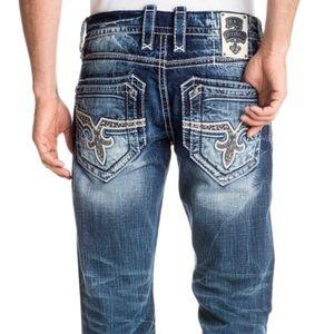 NWOT Rock revival Floyd jeans buckle boot cut